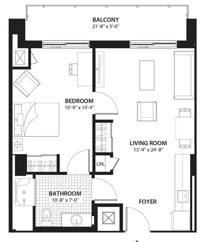 Willowbend Orleans Condo Floor Plans