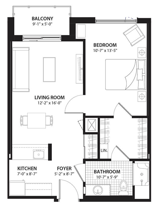 Willowbend Parkdale Condo Floor Plans