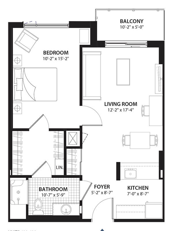 Willowbend Provence Condo Floor Plans