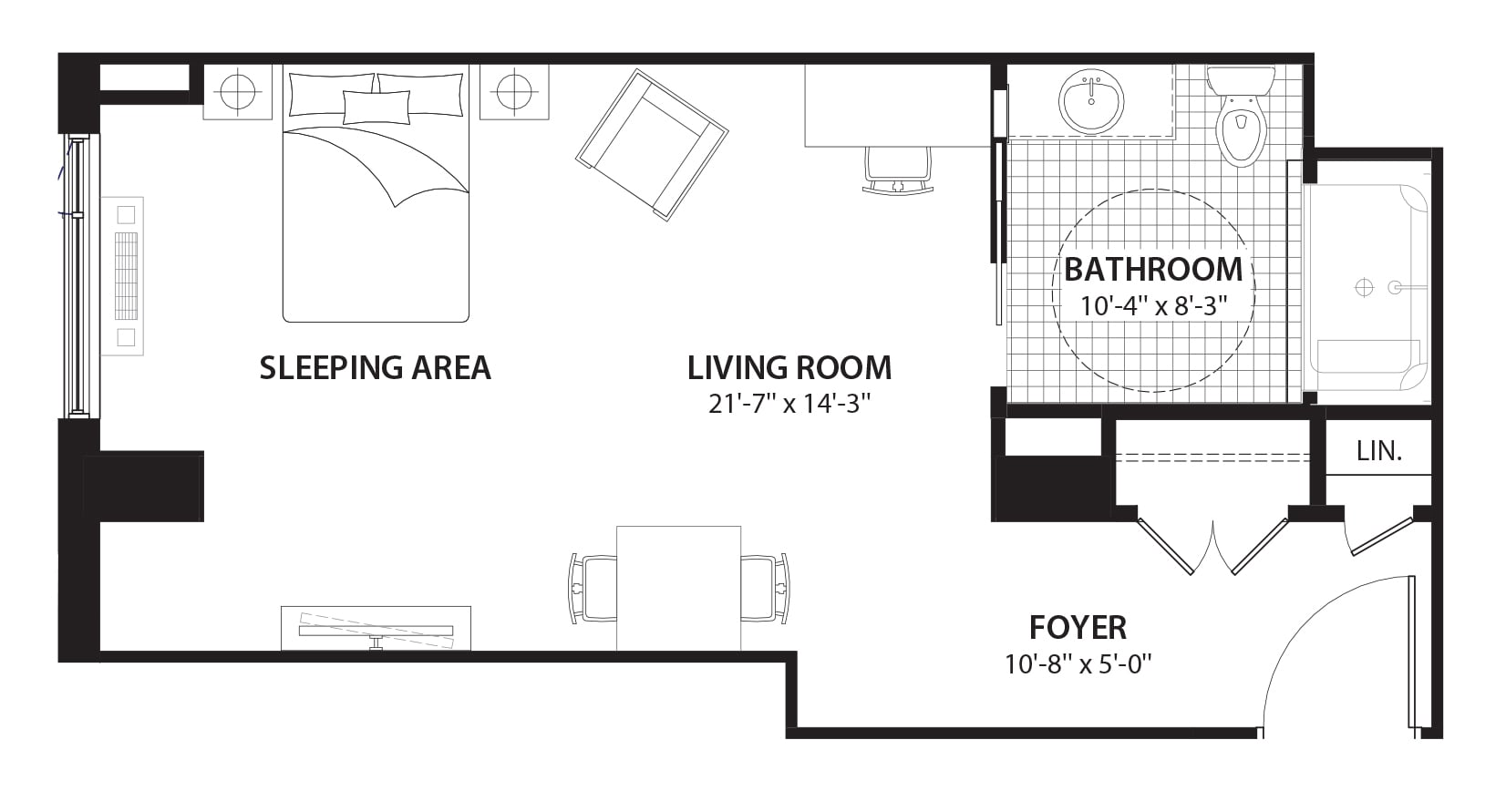 Willowbend Charlemagne Condo Floor Plans