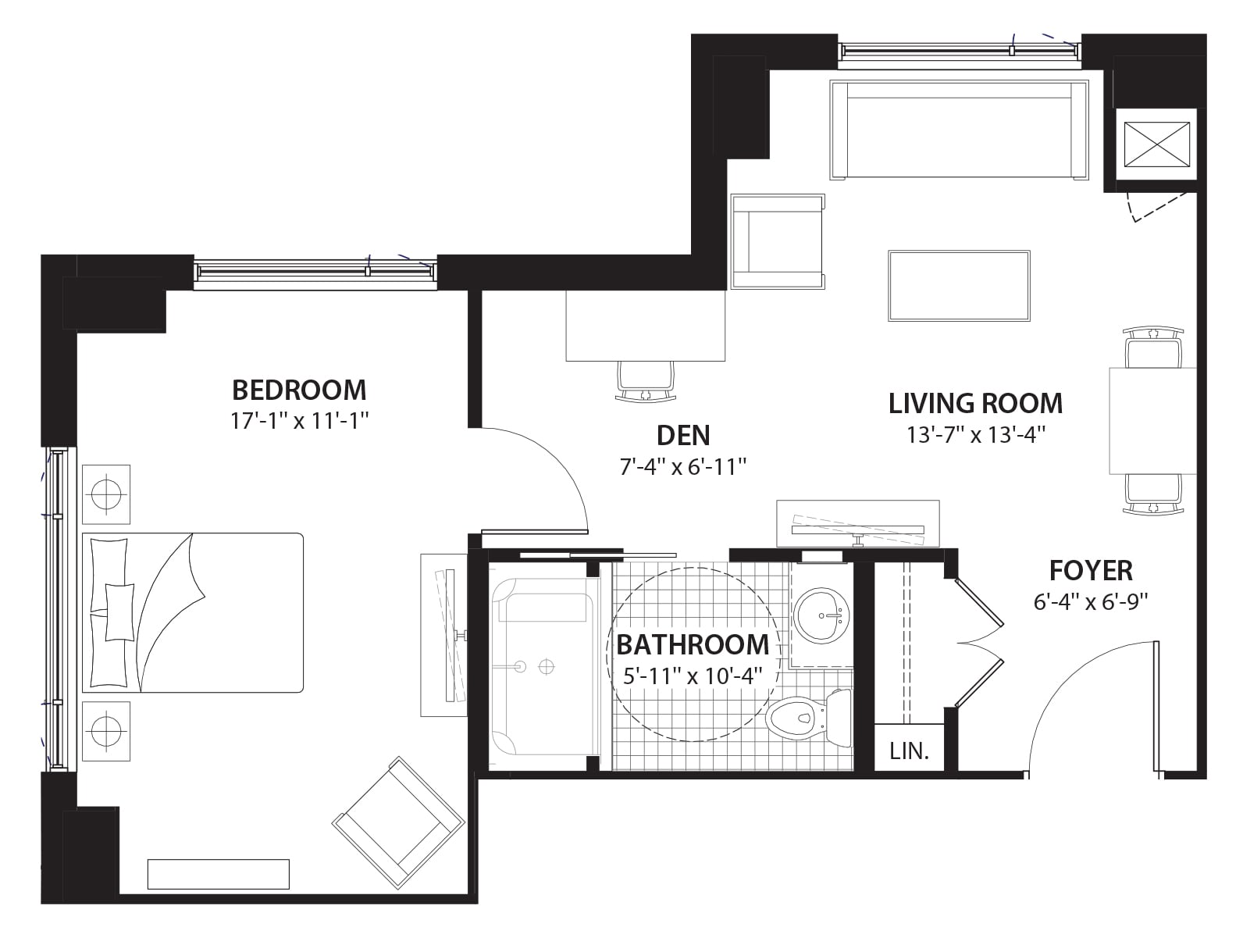 Willowbend DuPlateau Condo Floor Plans